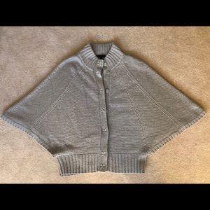 Marc Jacobs Oatmeal Chunky Wool Cape Cardigan